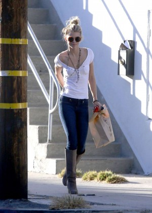 Annalynne Mccord in Tight Jeans Out in Los Angeles