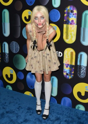 AnnaLynne McCord - Just Jared Halloween Party in Hollywood