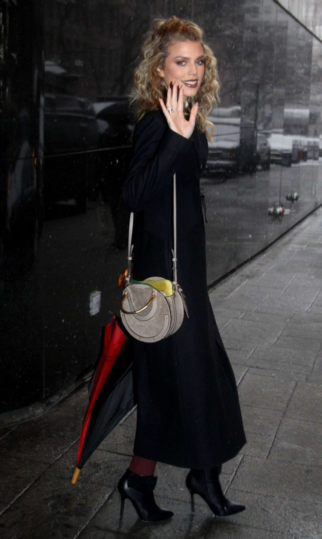 Annalynne Mccord - Leaveas Good Day New York in NY