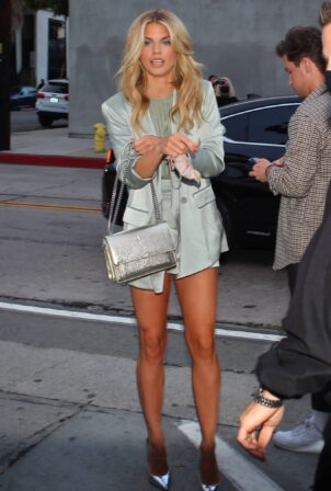 AnnaLynne McCord - Out for dinner at Craig's in West Hollywood