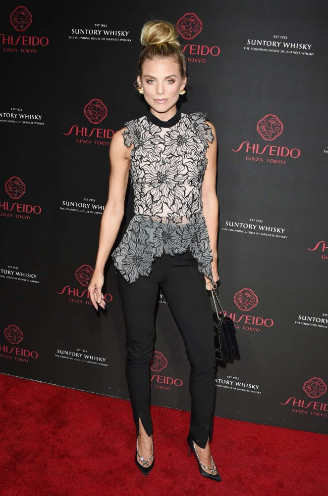 AnnaLynne McCord - Shiseido Makeup Launch in LA