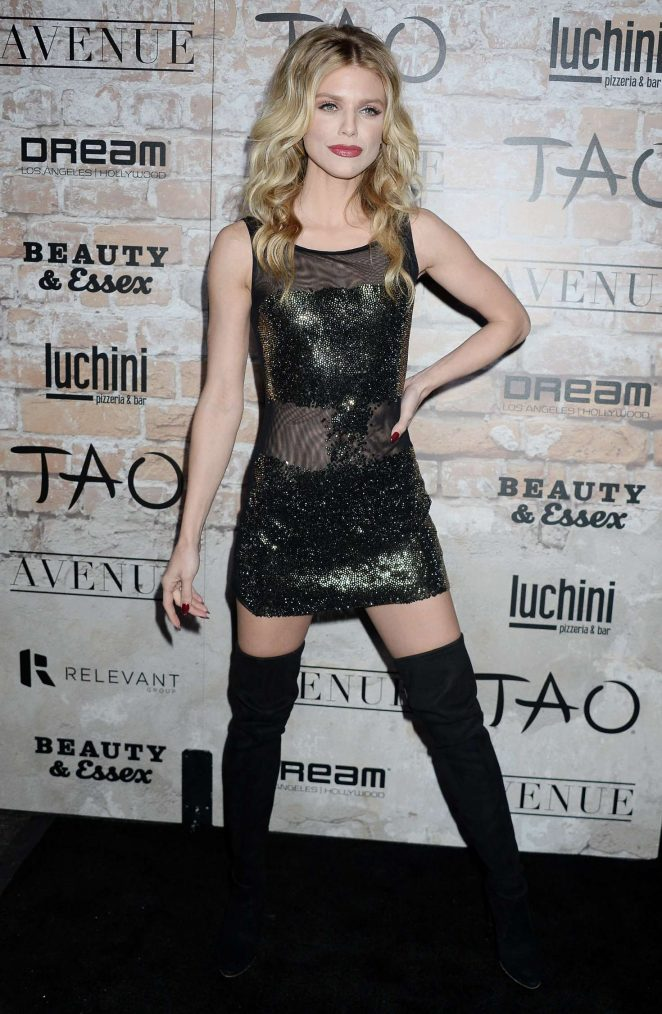 AnnaLynne McCord - TAO Group LA Grand Opening Block Party in Hollywood
