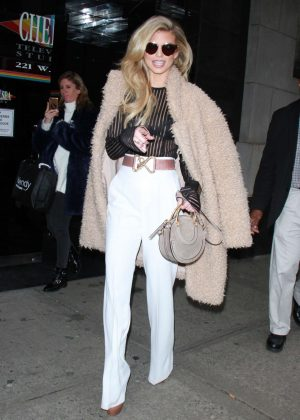 AnnaLynne McCord - Visits Wendy Williams Show in NYC