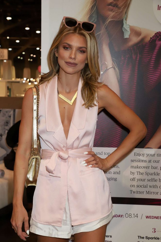 AnnaLynne McCord - WWD x Social House Panel at MAGIC Convention in Las Vegas