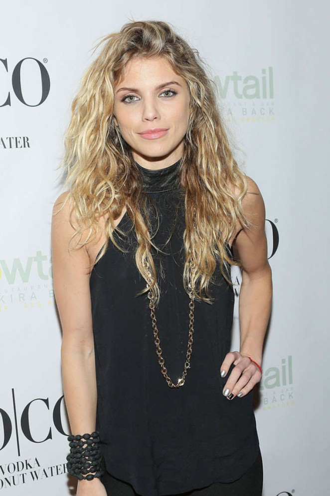 AnnaLynne McCord - Yellowtail Sunset Grand Opening in West Hollywood
