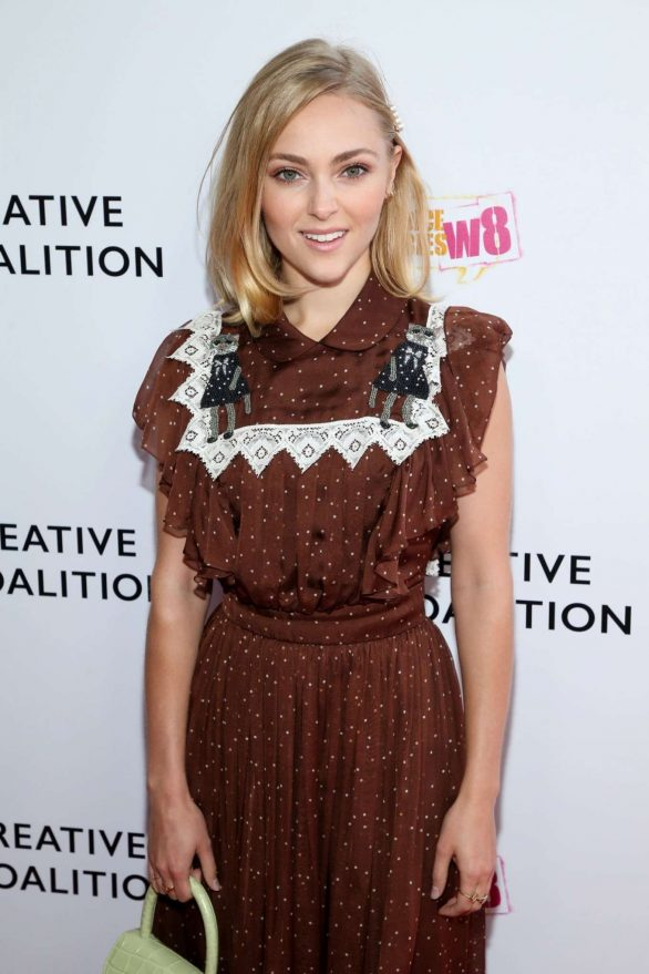 AnnaSophia Robb - 2019 Creative Coalition's Annual Television Humanitarian Awards Gala in Beverly Hills
