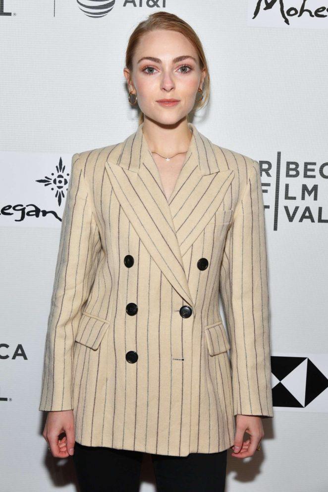 AnnaSophia Robb - 'Bethany Hamilton Unstoppable' Premiere at 2018 Tribeca Film Festival in NY