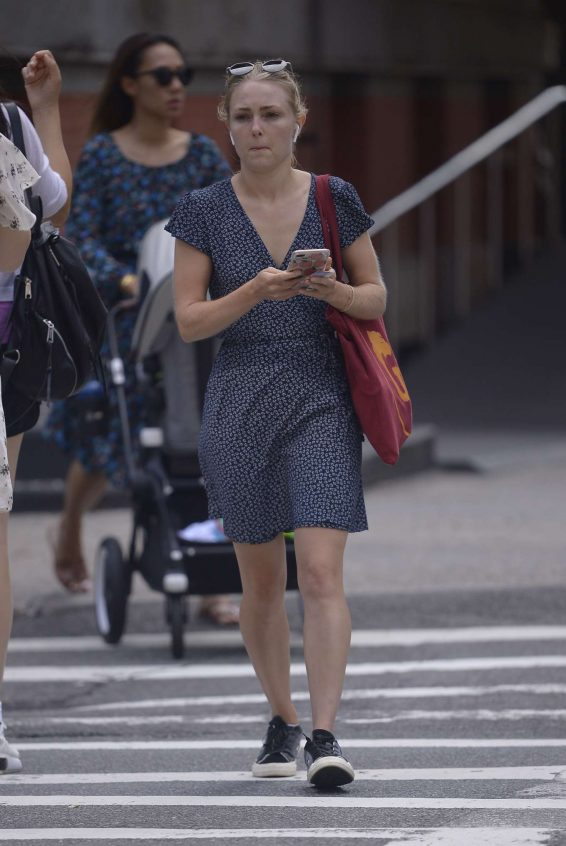 AnnaSophia Robb 2019 : AnnaSophia Robb – In a summer dress out and about in New York-02