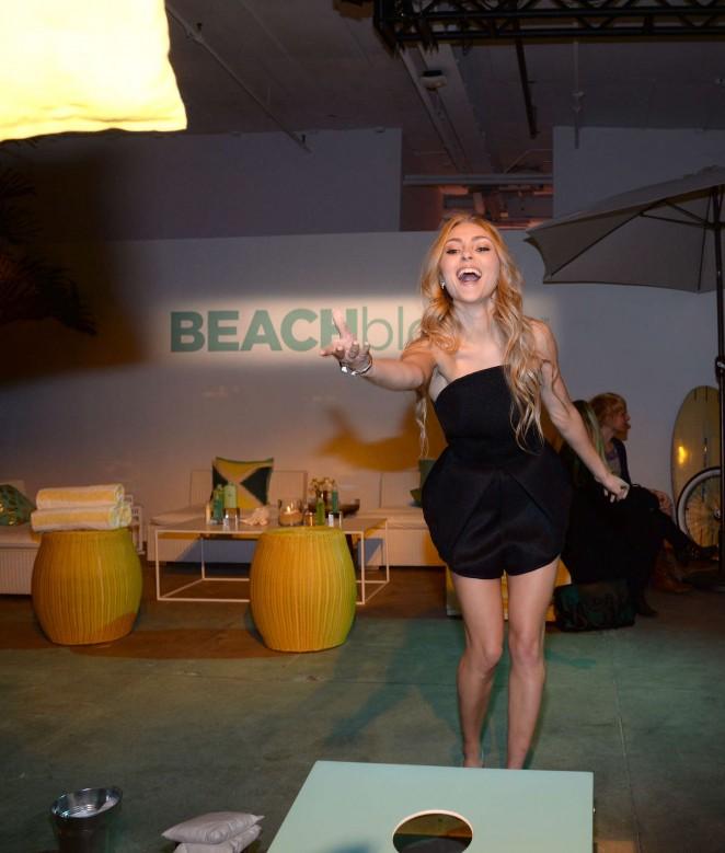 AnnaSophia Robb: John Frieda Hair Care Beach Blonde Collection Party -09