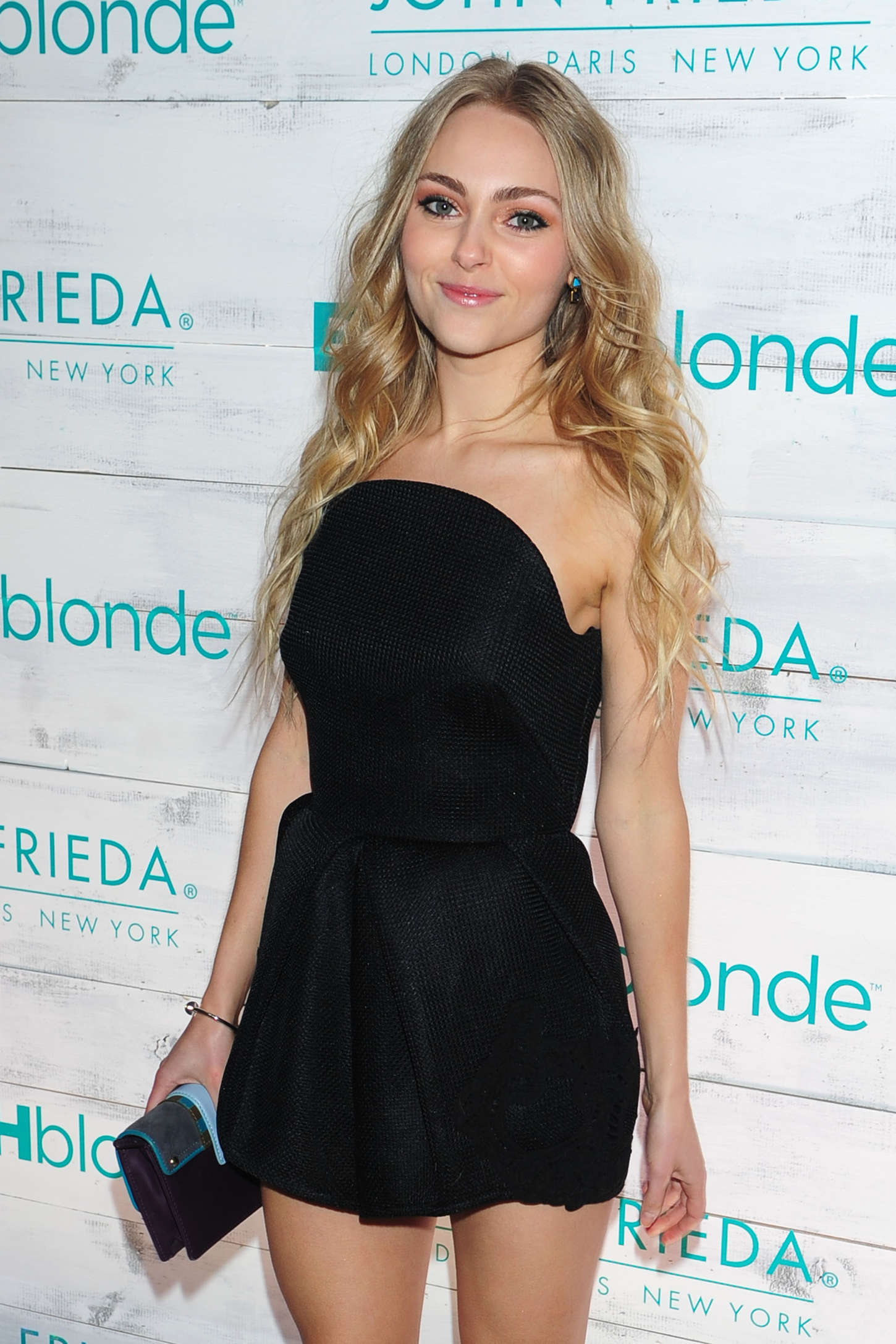 AnnaSophia Robb: John Frieda Hair Care Beach Blonde Collection Party -19