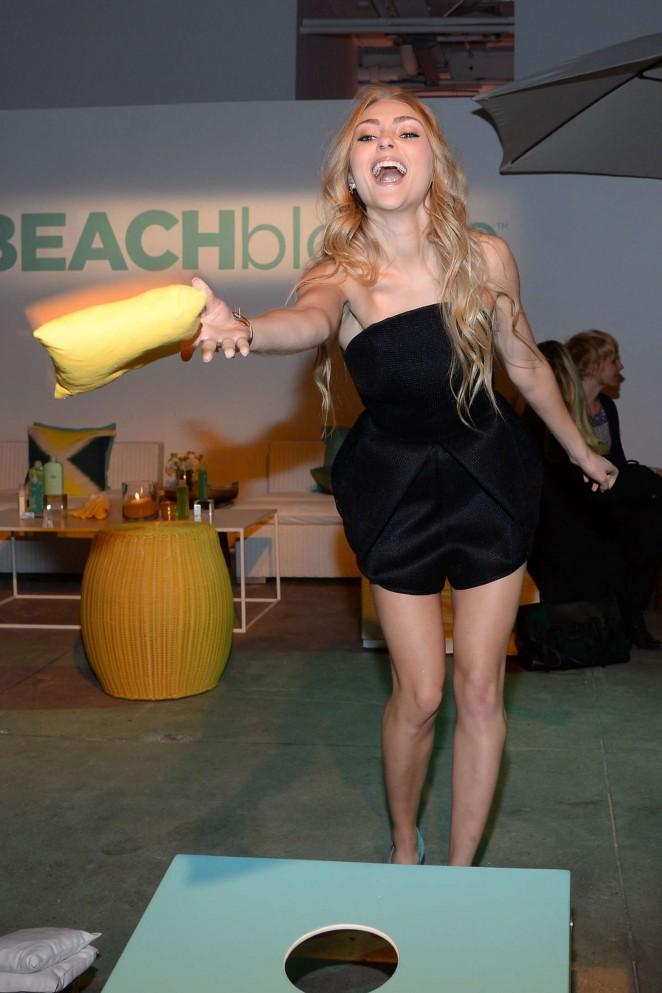 AnnaSophia Robb: John Frieda Hair Care Beach Blonde Collection Party -21
