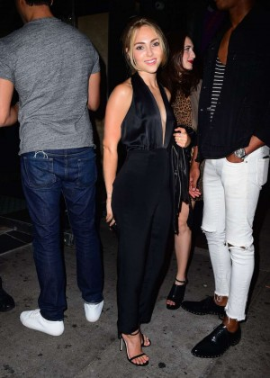 AnnaSophia Robb - Leaving a Galore Magazine Party in NY