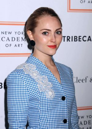 AnnaSophia Robb - New York Academy of Art Tribeca Ball 2017 in NY