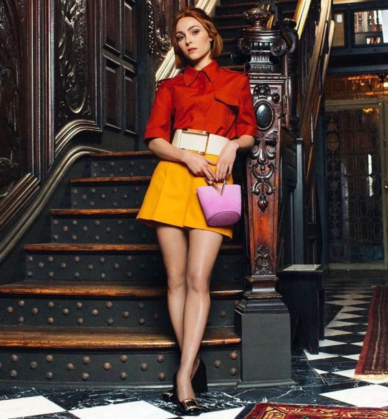 AnnaSophia Robb - 'Jewels to Shoes' Campaign 2019