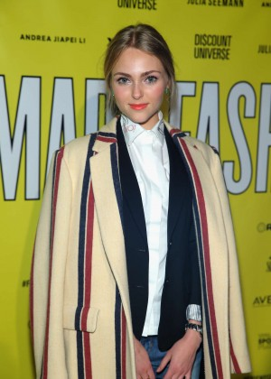 AnnaSophia Robb - VFILES Made Fashion Show 2015 in New York