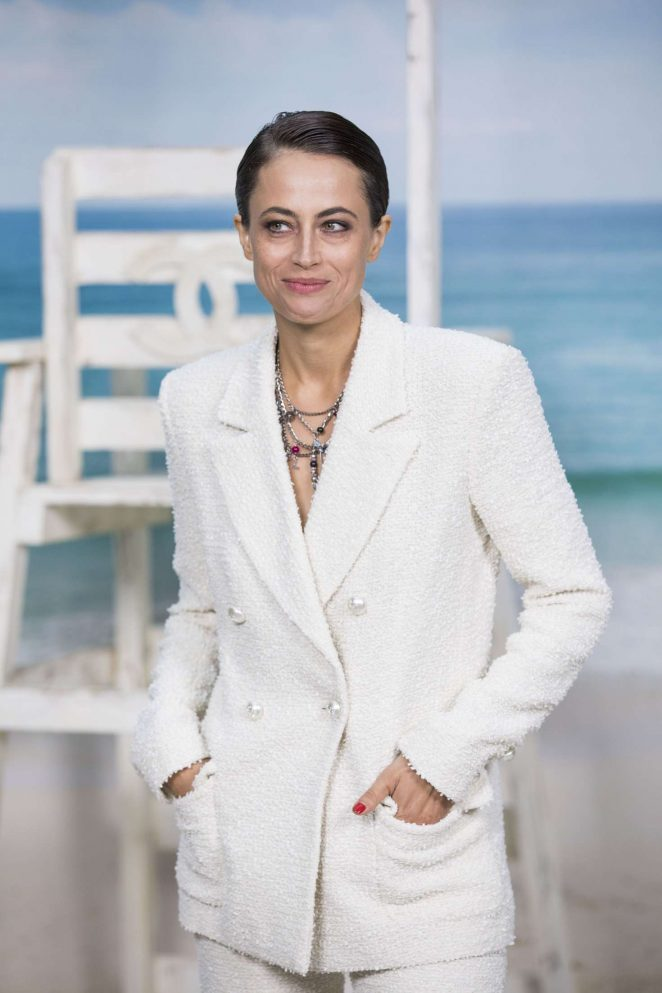 Anne Berest - Chanel Fashion Show in Paris