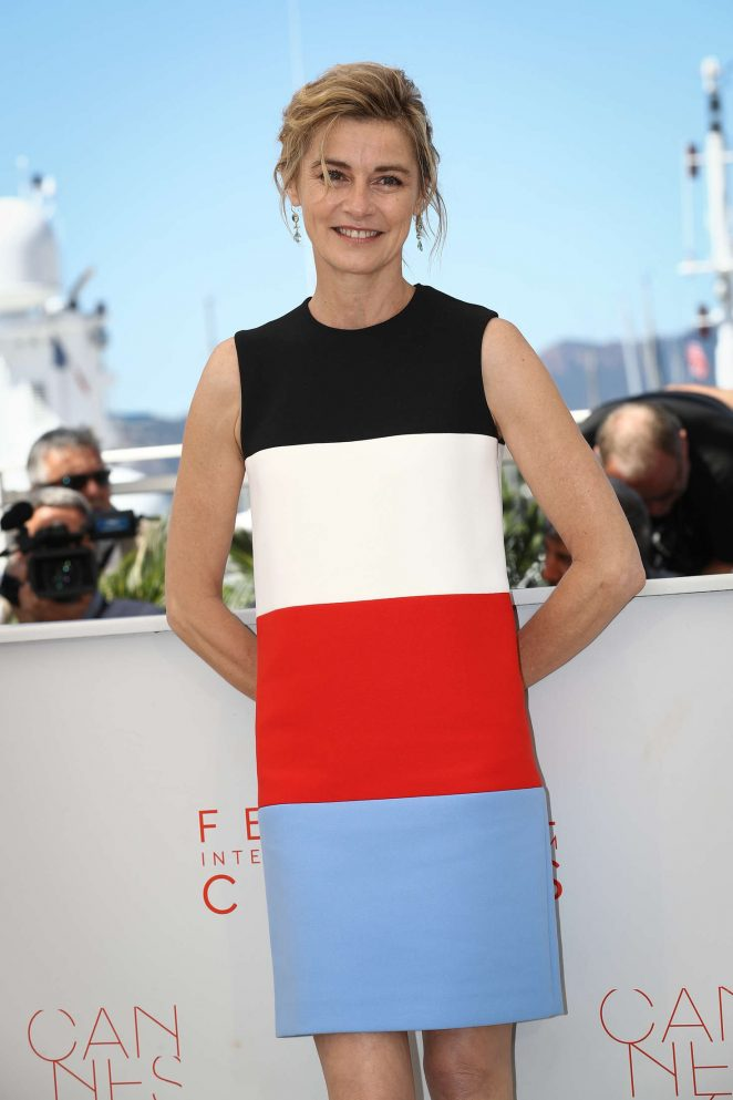 Anne Consigny - 'Elle' Photocall at 2016 Cannes Film Festival