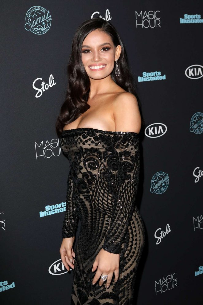 Anne de Paula - Sports Illustrated Swimsuit 2018 Launch Event in NY