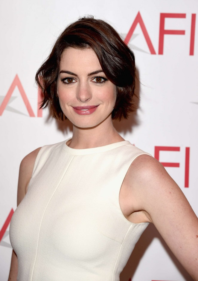 Anne Hathaway - 15th Annual AFI Awards in Los Angeles