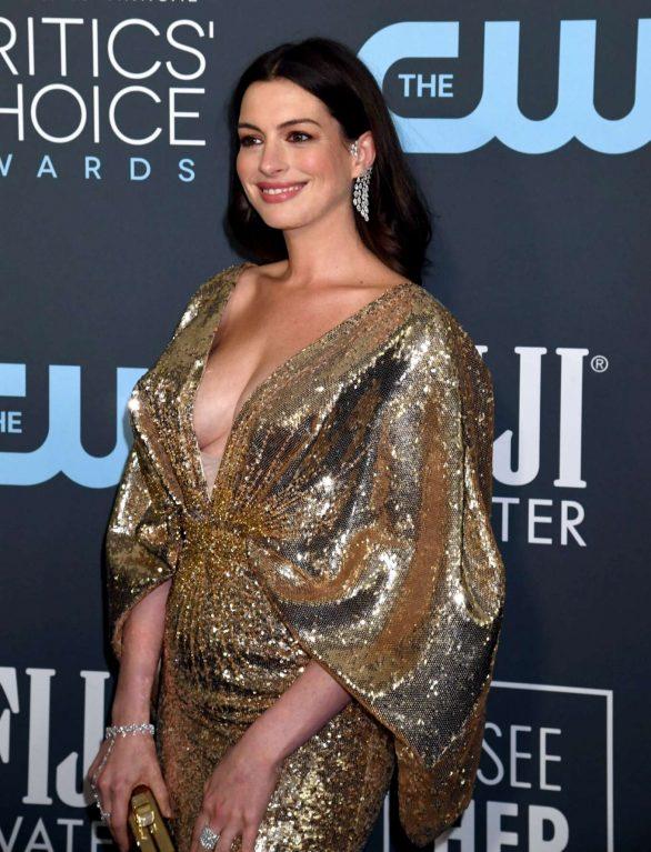 Anne Hathaway - 2020 Critics Choice Awards in Santa Monica