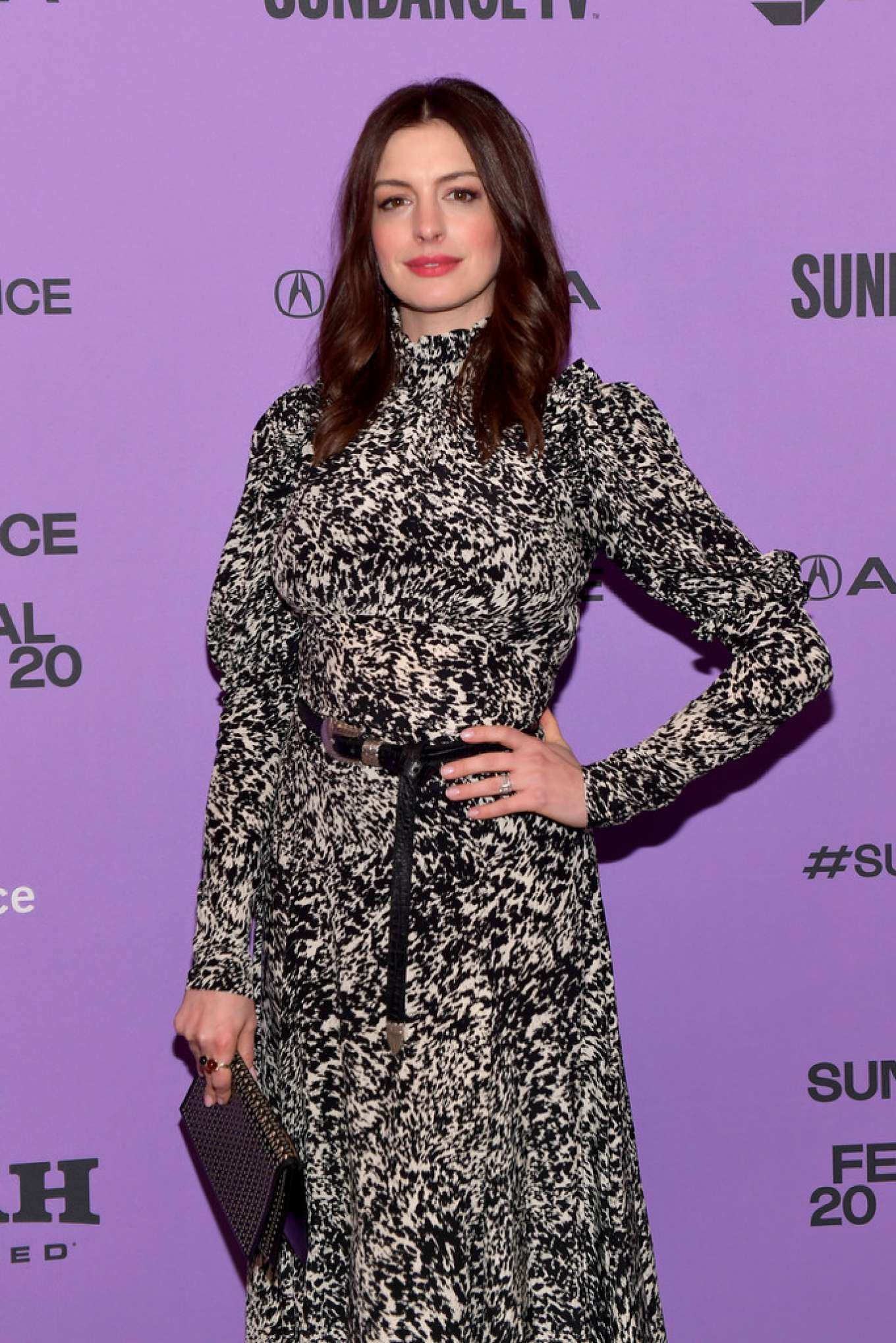Anne Hathaway - 2020 Sundance Film Festival - 'The Last Thing He Wanted' Premiere in Park City