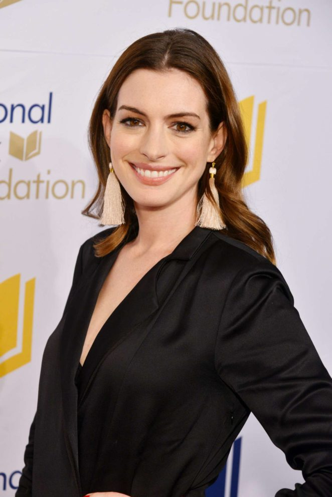 Anne Hathaway - 68th National Book Awards in New York