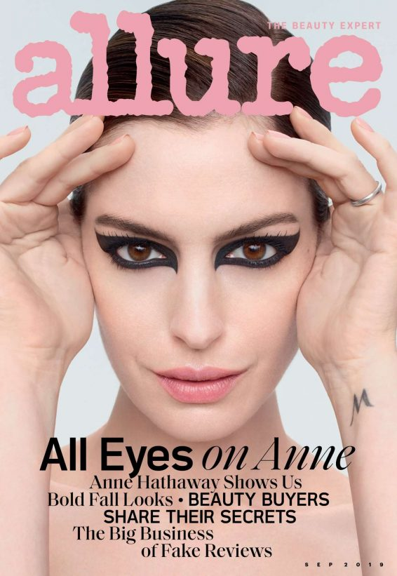 Anne Hathaway 2019 : Anne Hathaway – Allure Magazine September 2019-02