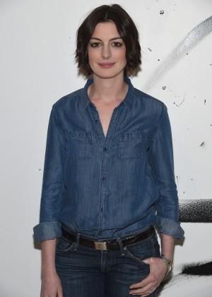 Anne Hathaway - AOL Build Speaker Series in NYC