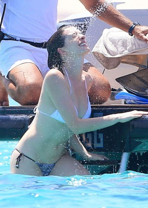 Anne Hathaway in Bikini in Ibiza