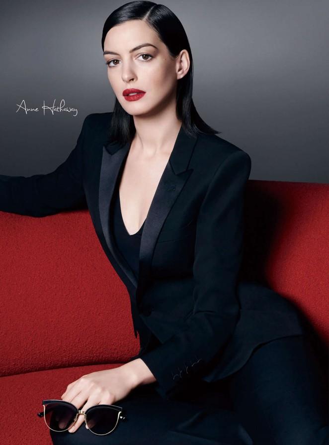 Anne Hathaway - Bolon Eyewear Campaign 2016
