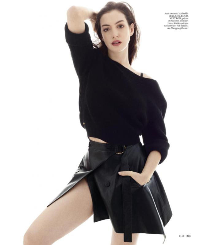Anne Hathaway - Elle US Magazine (April 2017)