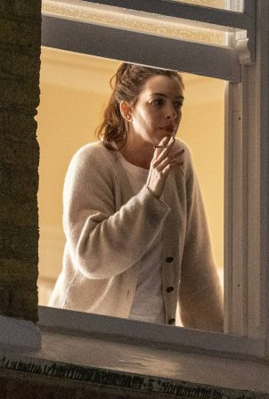 Anne Hathaway - Filming 'Lockdown' movie based on the pandemic in London
