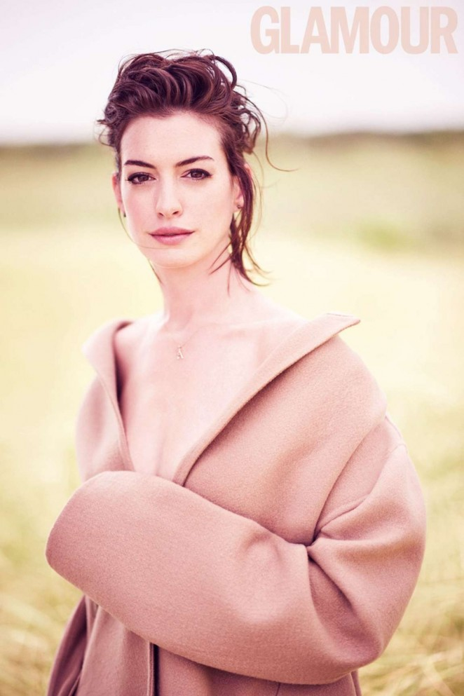 Anne Hathaway - Glamour UK Magazine (October 2015)