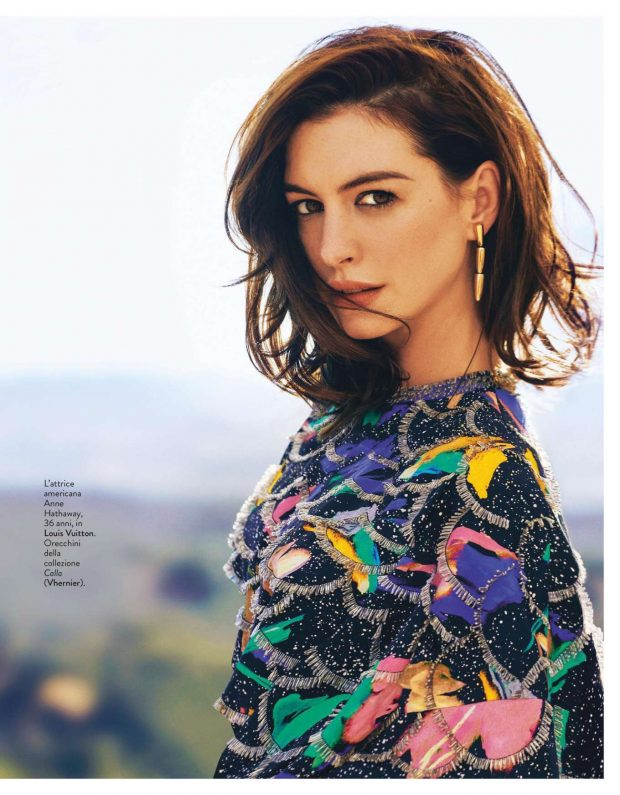 Anne Hathaway - Grazia Italy Magazine (May 2019)