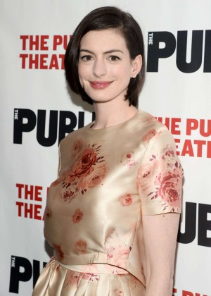 """Anne Hathaway - """"Grounded"""" Opening Night Party in New York"""