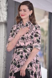 Anne Hathaway - Honored with a Star on the Hollywood Walk of Fame