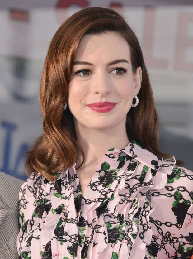 Anne Hathaway: Honored with a Star on the Hollywood Walk of Fame -07