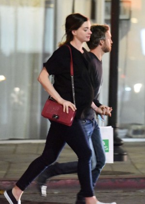 Anne Hathaway in Jeans out in LA