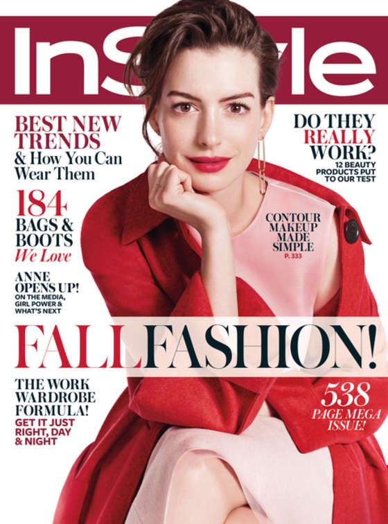 Anne Hathaway - InStyle Cover Magazine (September 2015)