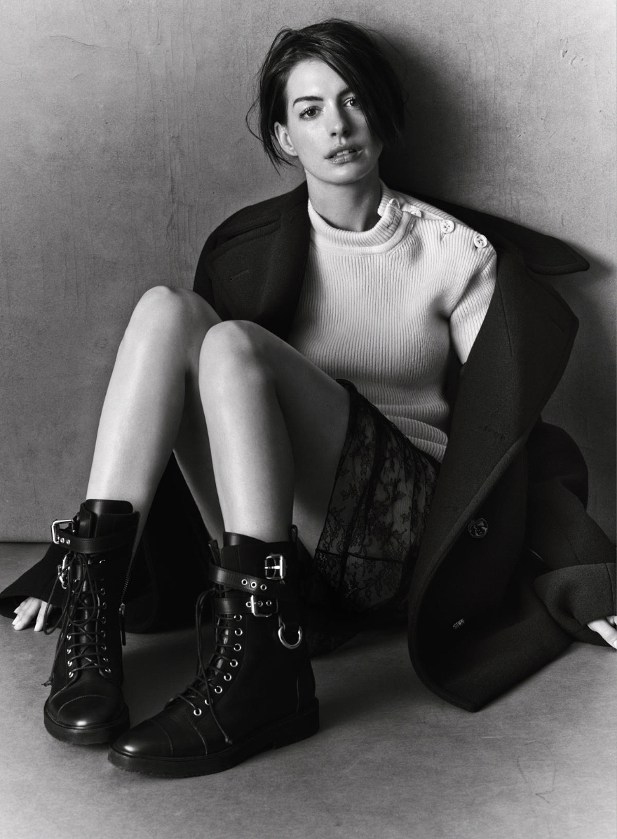 Hathaway anne instyle september exclusive photo