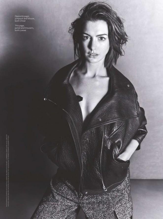 Anne Hathaway - Instyle UK Magazine (December 2015)