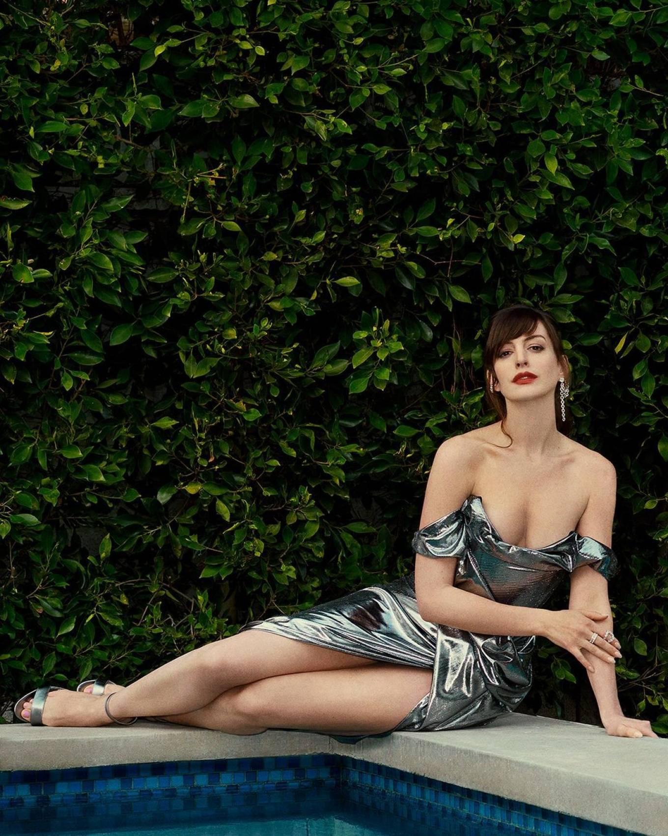 Anne Hathaway - Locked Down movie premiere 2021 photoshoot