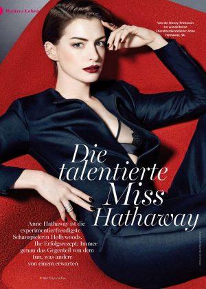 Anne Hathaway - Myself Magazine (December 2016)
