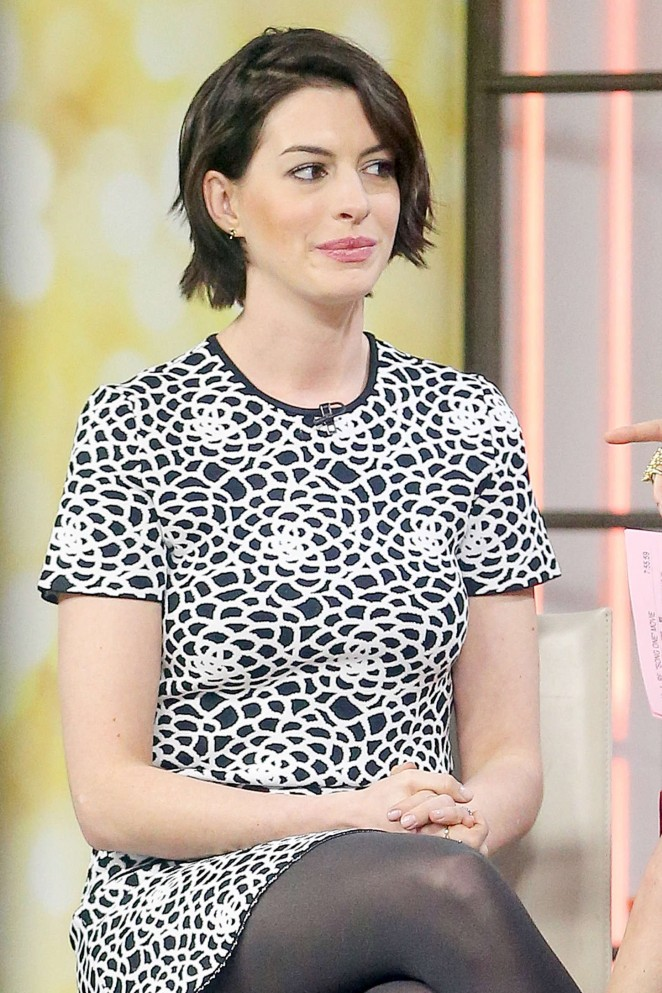 Anne Hathaway at Today Show -08
