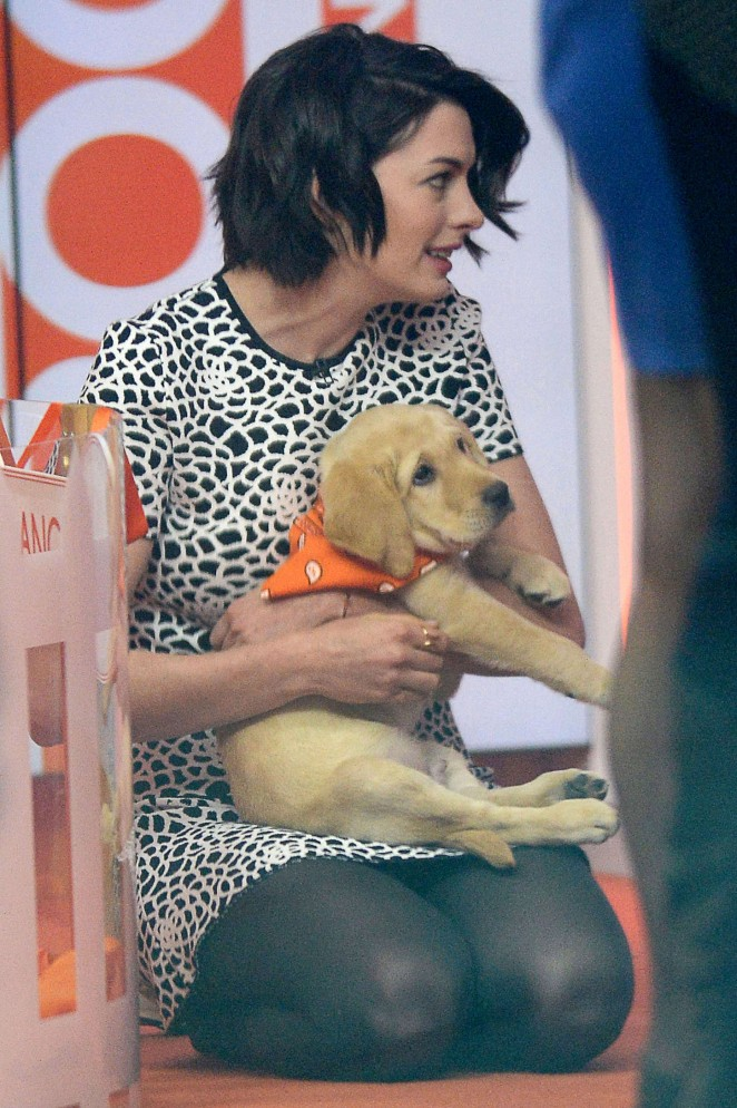 Anne Hathaway at Today Show -10