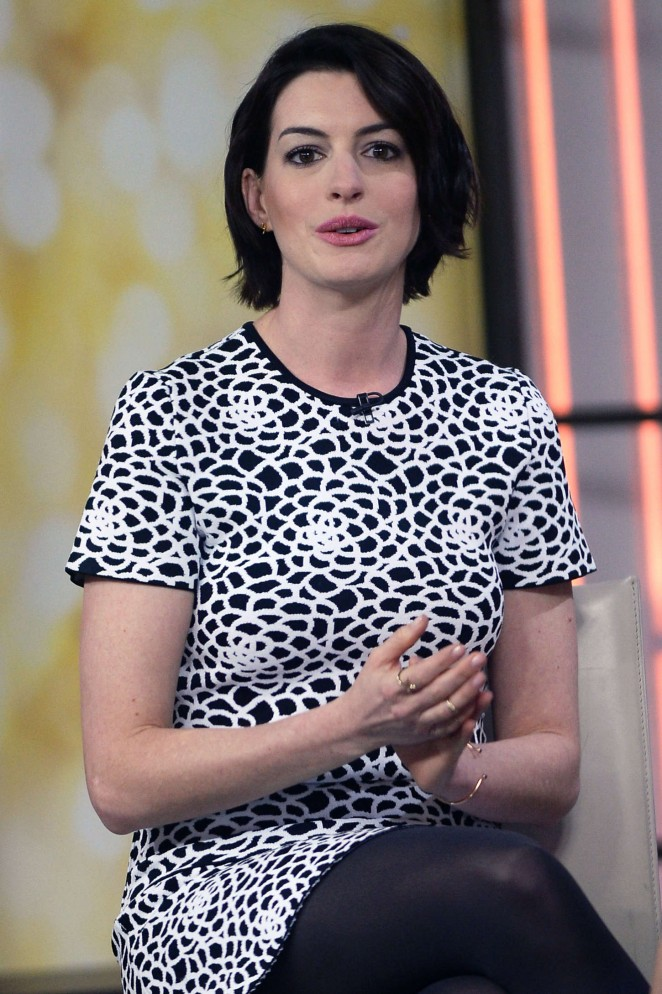 Anne Hathaway at Today Show -12