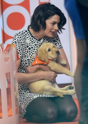Anne Hathaway - NBC's 'Today' Show in Manhattan