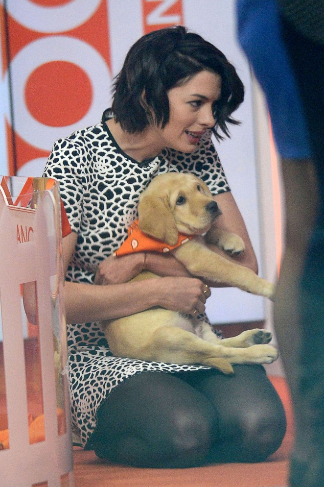 Anne Hathaway at Today Show -16