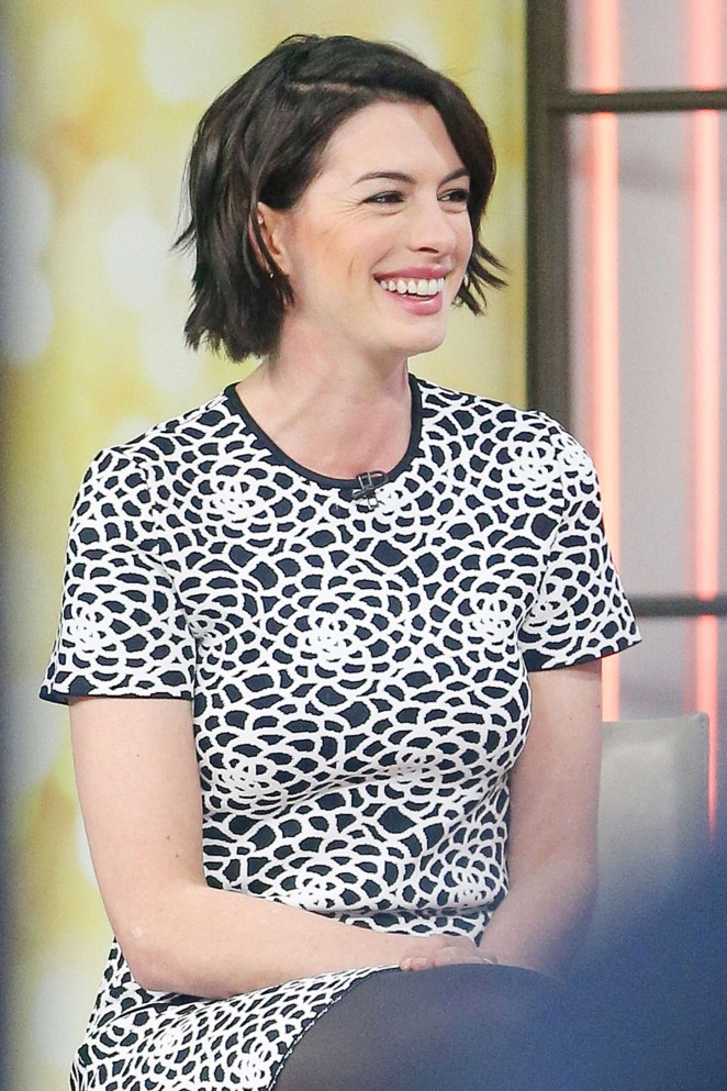 Anne Hathaway at Today Show -20