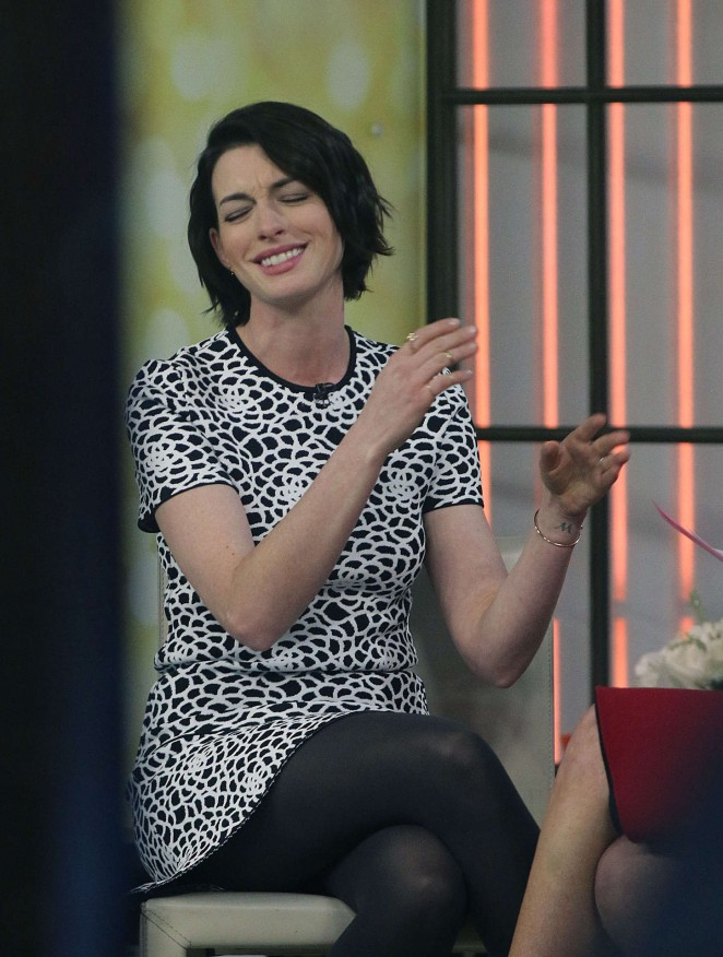 Anne Hathaway at Today Show -23